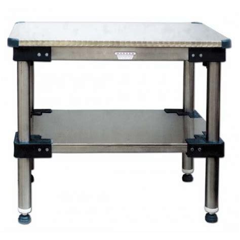 sotto tavolo tavoli da lavoro con piano sopra e sotto in acciaio inox