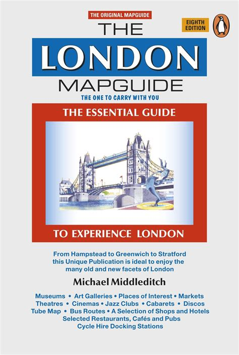 the london mapguide 8th edition penguin books new zealand