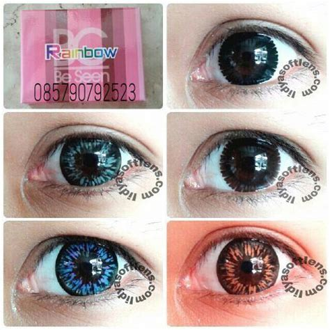 Paling Dicari Mini Neon By Dreamcon jual softlens omega bc seen rainbow