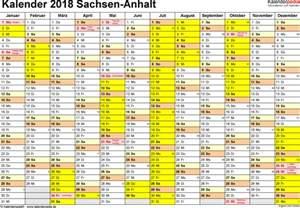 Kalender 2018 Ferien Feiertage Sachsen Anhalt Kalender 2018 Sachsen Anhalt Ferien Feiertage Pdf Vorlagen