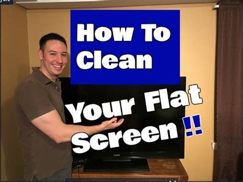 How Do I Clean A by How To Clean A Flat Screen Tv Led Lcd Or Plasma
