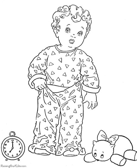 Kids Printable Christmas Coloring Pages Bedtime Bedtime Coloring Pages