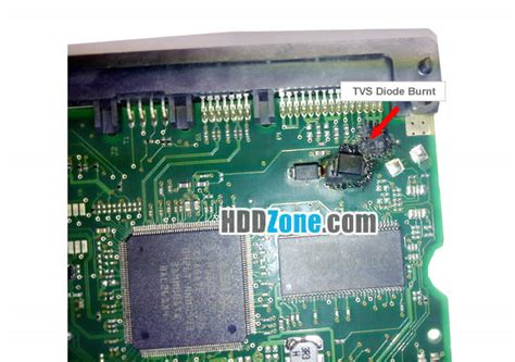 hitachi tvs diode how to fix a drive pcb board hddzone