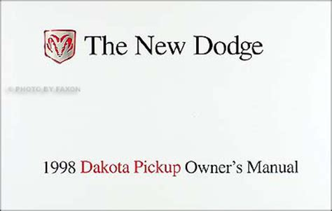 1998 dodge dakota sport repair manual