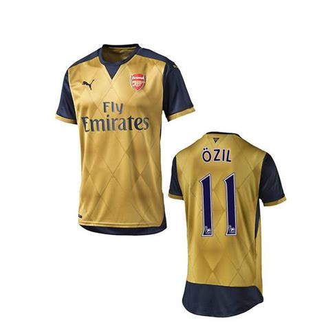Arsenal Away 1516 ozil youth jersey arsenal away 2015 2016