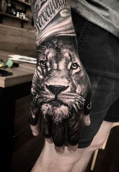 lion hand tattoo best 25 tiger ideas on