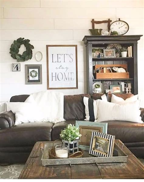 wall decor ideas for small living room farmhouse living rooms modern farmhouse living room