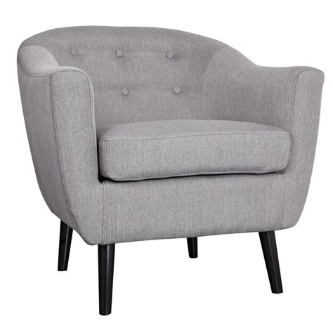 grey accent chairs nspire overlea accent chair grey canada at shop