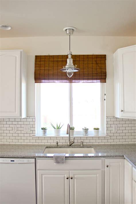 Kitchen Window Lighting Kitchen Renovation Series Counter Tops Sink Lighting Window Treatments