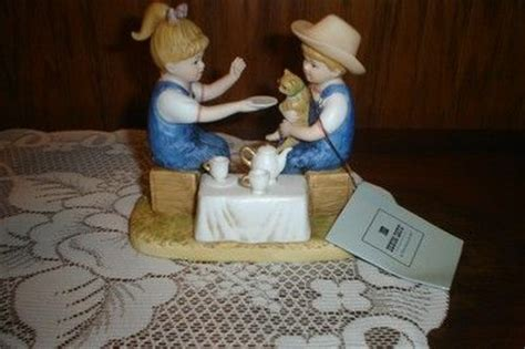 denim days home interior home interiors homco denim days figurine quot afternoon tea