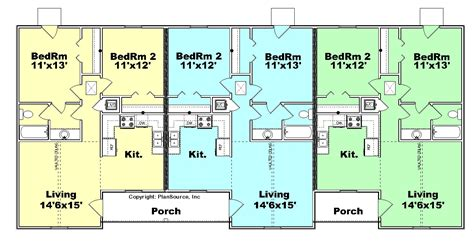 housing floor plans free amazing triplex house plans 11 triplex floor plans