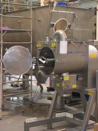 Mixer Kek key features that make a mixer easier to clean powder bulk solids