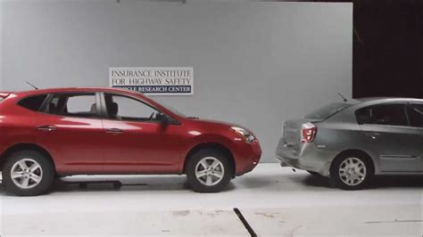 Rear End Crash Tests by Crash Test Exle Of Front Into Rear 10mph Low