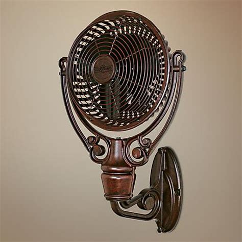 fanimation wall mount fan fanimation rust finish wall mount fan 26287