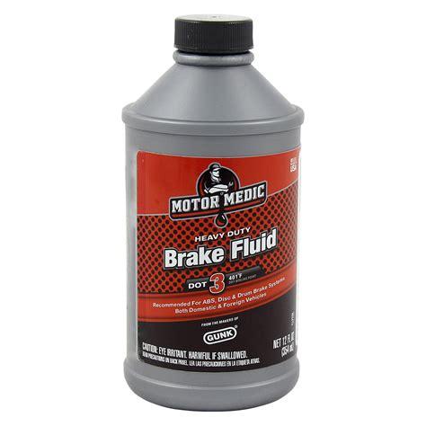 motor medic motor medic 174 dot 3 brake fluid