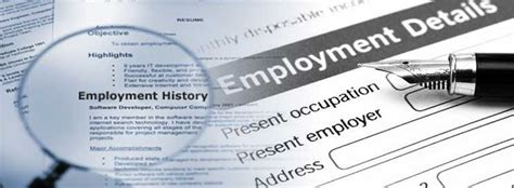 Verification Background Check Employment Verifications Pre Employment Verification Services Background Check