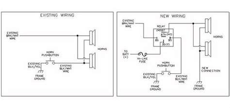 kleinn air horn installation wiring diagrams wiring diagrams