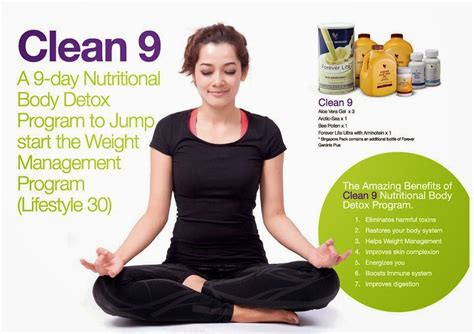Forever Clean 9 Detox Diet by Forever Living Products Weight Management