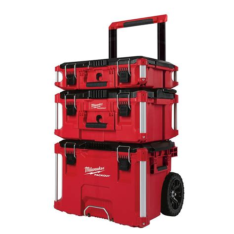 Red Kitchen Furniture by Milwaukee 22 In Packout Modular Tool Box Storage System