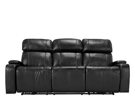 Stylus Power Reclining Sofa Black Raymour Flanigan