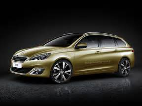 peugeot new cars 2014 2014 peugeot 308 sw rendered autoevolution