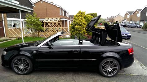 Audi A4 B6 Cabrio by Audi A4 Cabriolet Convertible B6 B7 Roof Closing With