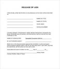letter of lien release template lien release form 8 free word pdf documents