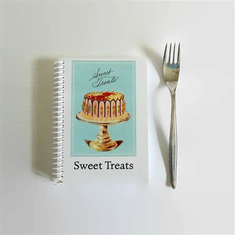 recipe journal 2018 blank recipe book to record recipes beautiful gifts for food chefs cooks volume 1 books sweet treats recipe book blank a6 notebook diary journal