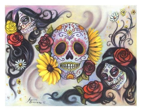 mexican sugar skull tattoo designs 25 beste idee 235 n mexicaanse schedeltatoeages alleen