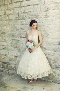 Vintage wedding dress bridal gown inspiration from etsy 1950s tea