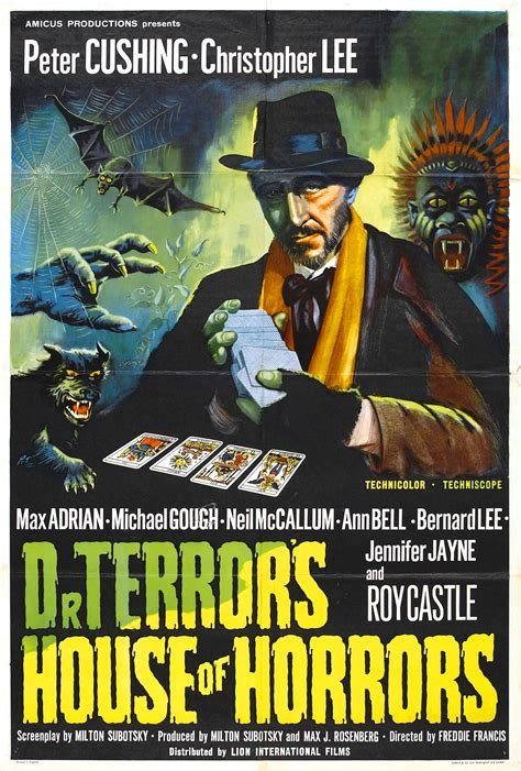 the house of horrors dr terror s house of horrors uk 1964 horrorpedia