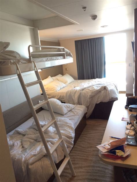 Beds On The Floor by Ncl Escape Cabin 9130 Bed Configuration For 4 People