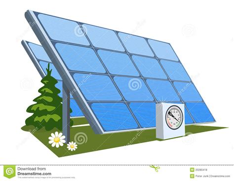 solar panel royalty free stock photos image 20280418