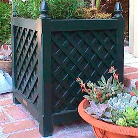 Lattice Planter Box by Lattice Planter Box Plant Trellis Home Infatuation