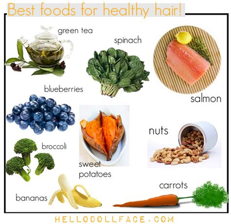anti dht recipes for a pro hair diet eat these foods for healthy hair hello dollface
