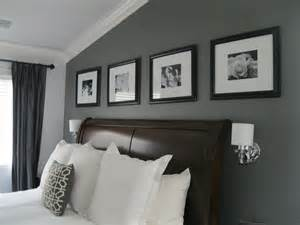 Grey Accent Wall by C B I D Home Decor And Design Charcoal Gray Master Suite