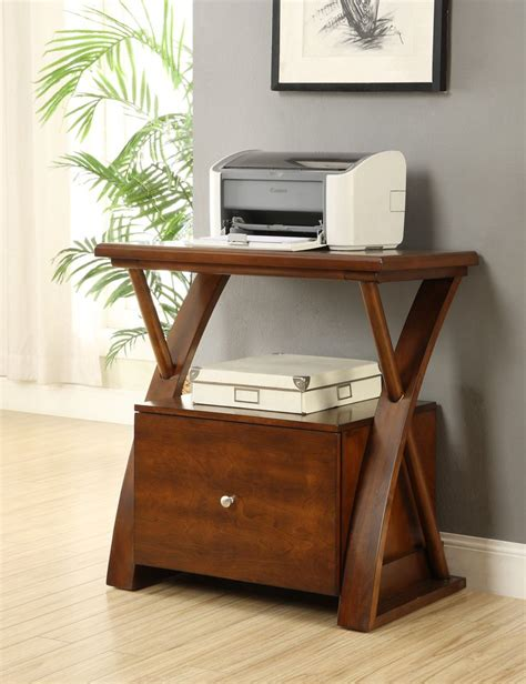 printer stand ideas kantek mobile printer stand two shelf 17w x 14d x 18h