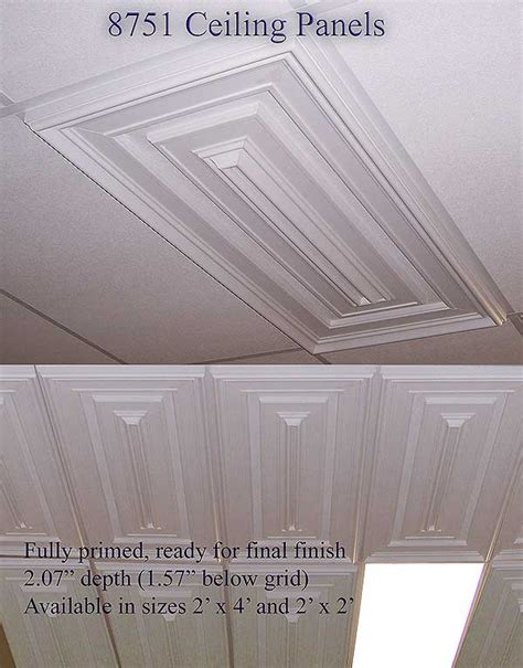 Custom Ceiling Panels by Wishihadthat Custom Ceiling Tiles Multibeveled Design