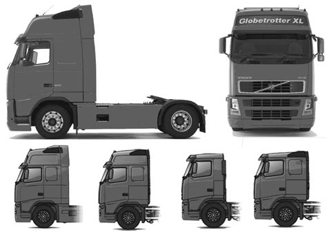 volvo xl car blueprints volvo fh12 globetrotter xl blueprints