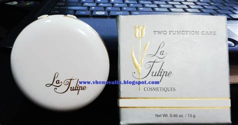 Bedak Wardah Biru Review Bedak Padat Two Function Cake From La Tulipe 08