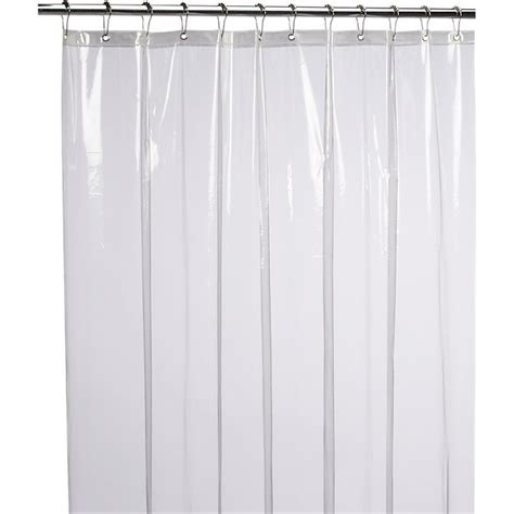 Peva Shower Curtains by Peva Clear Shower Curtain Liner Cb2