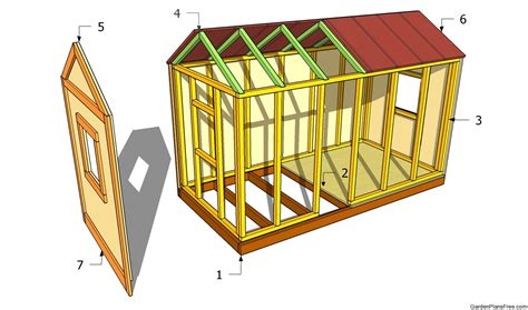 build house online pdf diy garden playhouse plan download hanging porch swing