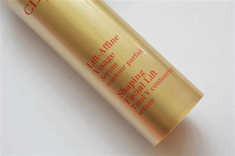 Clarins Serum Shaping Lift clarins shaping lift total v contouring serum review