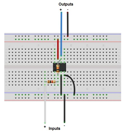 circuit to breadboard resistors what resisters for inverting op should i use electrical engineering stack