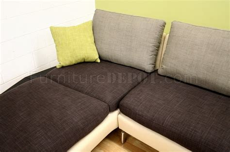 sectional sofa with removable cushions multi tone modern sectional sofa w removable cushions