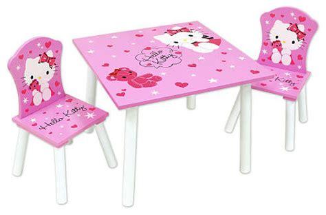 hello table chair set contemporain chaise et