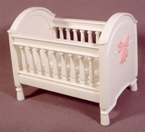 Fisher Price Loving Family Dollhouse White Baby Crib Bed Cost Of Baby Cribs