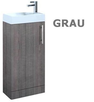 schrank grau badm 246 bel set waschbecken schrank waschtisch wei 223 grau