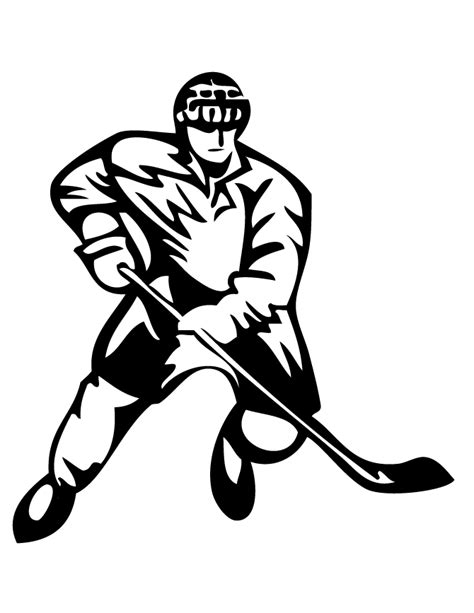printable hockey images free printable hockey coloring pages hm coloring pages