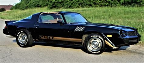 1978 chevrolet camaro z28 with corvette wheels classic